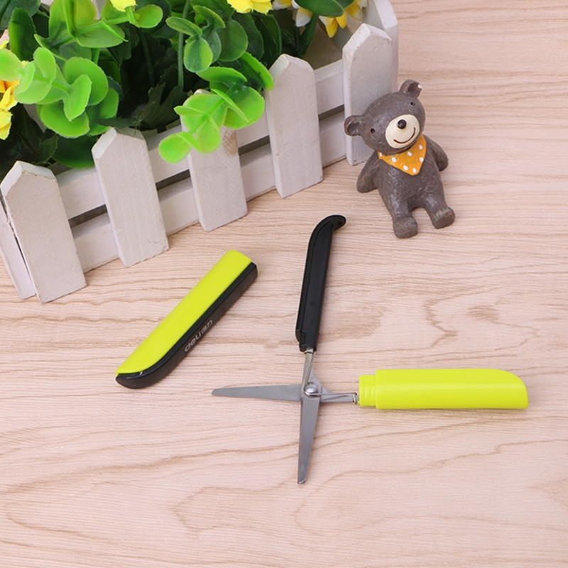 Creative Colorful Pattern Portable Scissors Stationery Scissors Novelty Scissors DXAC