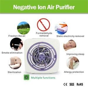 Image 4 - ATWFS Air Purifier Ionisator Purificateur Luft Reiniger Hause Ionizador Negative Ionen Generator Duft Maschine Entfernen Formaldehyd