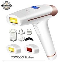 Lescolton depiladora láser permanente T009i IPL, máquina de depilación permanente para Bikini, recortador de piernas y cuerpo, depilador eléctrico a láser