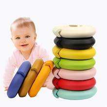 2M Soft Baby Safety Desk Table Edge Guard Strip Security L-Shaped Kids Protection Bumper Edge Angle Home Anti-collision Strip(China)