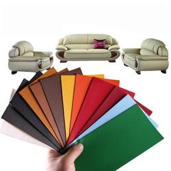 25*30CM (2pcs) Leather Repair Self Adhesive Patch PU Paste Self Stick On Sofa Clothing Repair Multicolor Big Size Sticker Badge