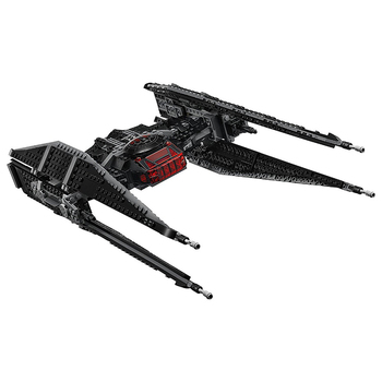 10907 705Pcs Star Wars Kyloes Ren Tie Fighters Block Brick Starwars Figures Toy For Children Weapon Christmas Gift Lepining 2