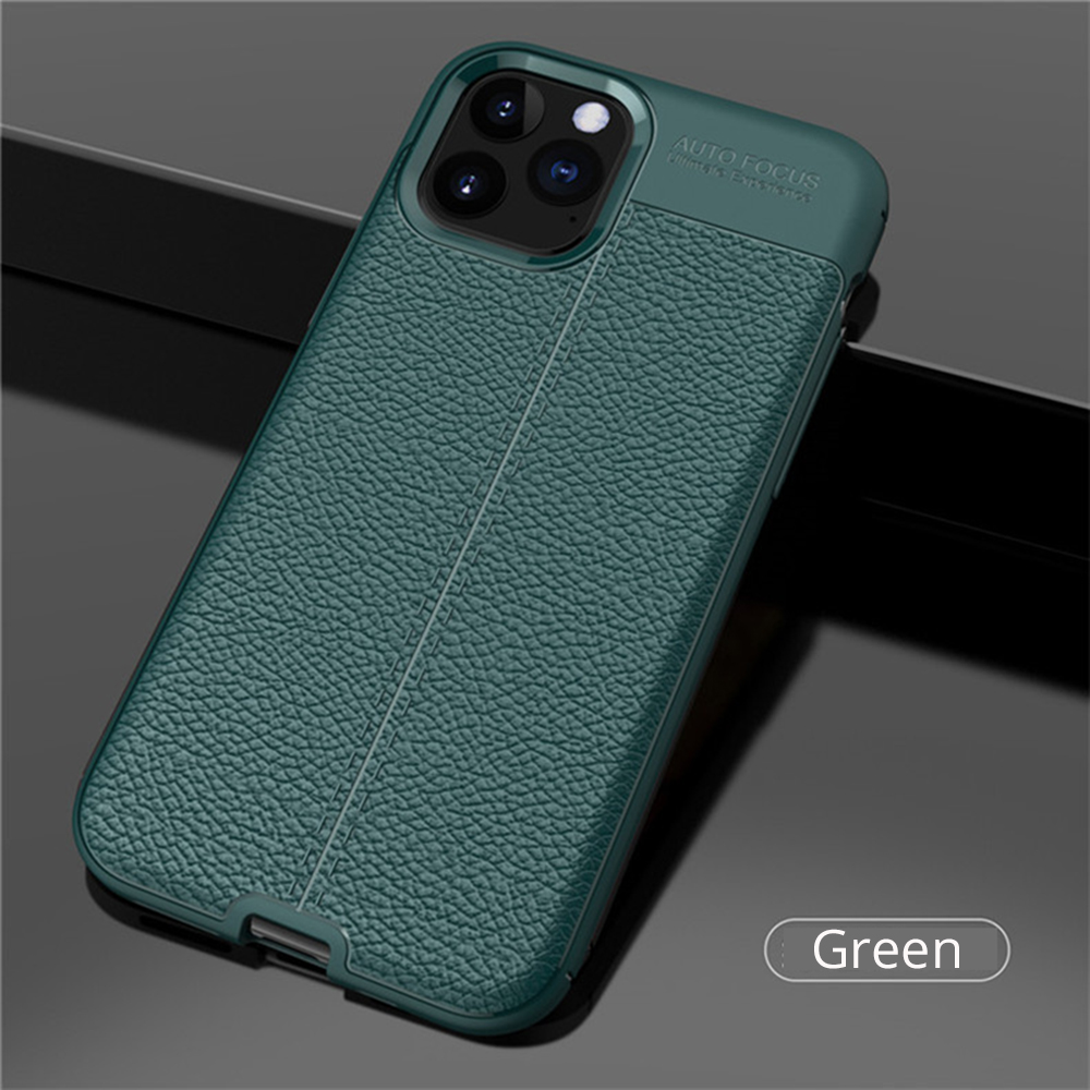 H59ed4ae567eb4bd8873fae7eb7ac63de8 Leather Case For Iphone11 11 Pro Case Cover Luxury Silicon Bumper Phone Case on For Iphone 11 Pro Max 11 Pro Funda Cover