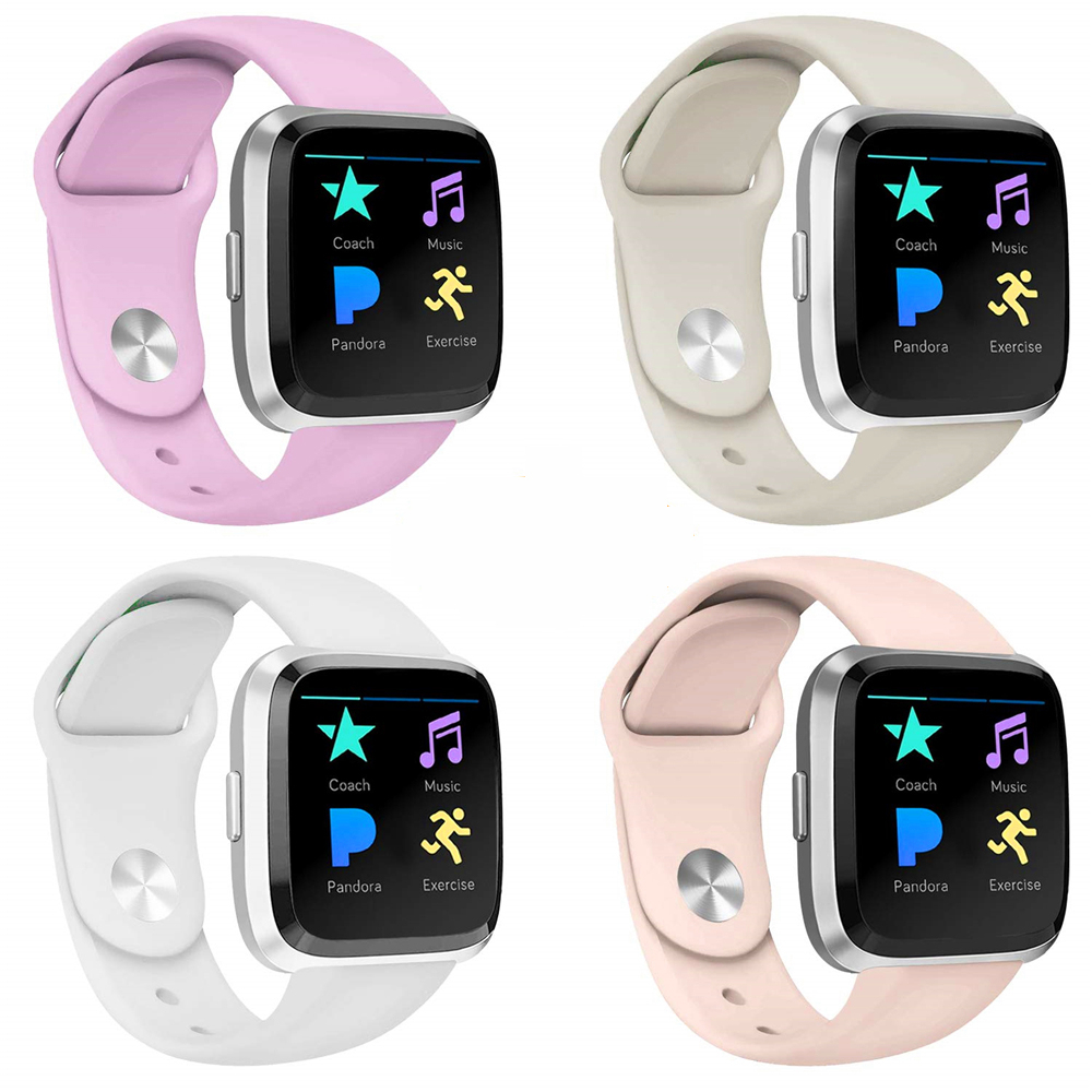Smart Watch Strap For Fitbit Versa /Versa Lite Band Silicone Replacement Quick Release Wristband Bracelet For Fitbit Versa Strap