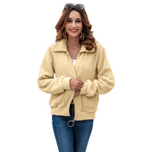 Womens Coat Autumn New Fashion Sweater Full Color Cardigan Long Sleeve Women Clothes Ladies Warm Outerwear 2019