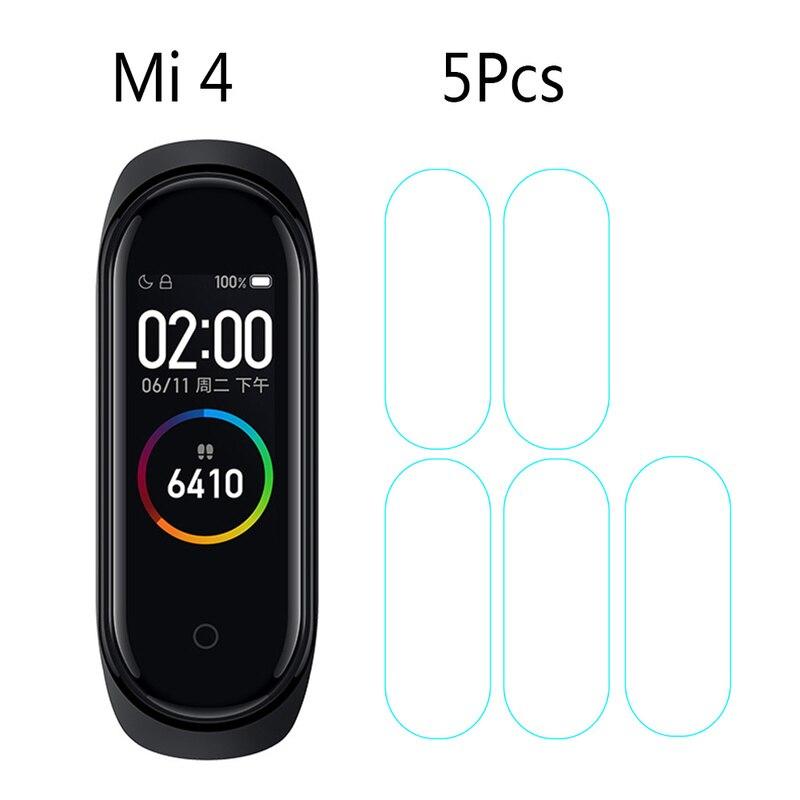 Защитная пленка для Xiao mi band 4, 1/2/3/4/5 шт., смарт-браслет с защитой от царапин, защитная пленка для меня band 4