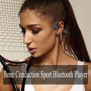 Image 3 - חדש לשחות עצם הולכה K7 16GB Mp3 נגן Bluetooth 5.0 2 ב 1 אוזניות IP68 עמיד למים ריצה כושר ספורט שחייה אוזניות