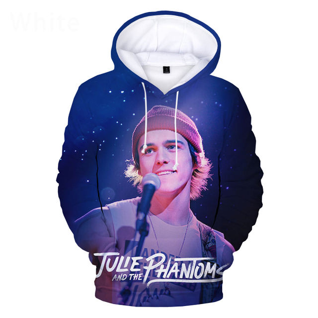 JULIE AND THE PHANTOMS THEMED 3D HOODIE (6VARIAN)