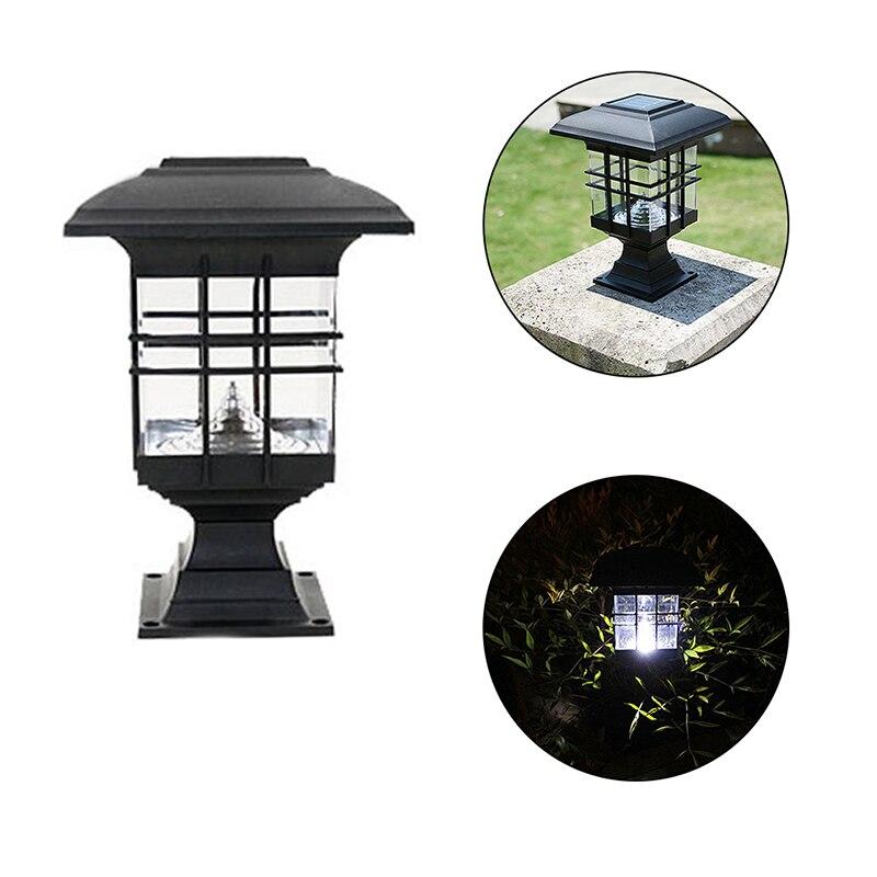 Solar Straße Licht Wasserdicht Cottage Stil Weiße LED Solar Garten Licht Im Freien Garten Rasen Landschaft Dekoration Lampen