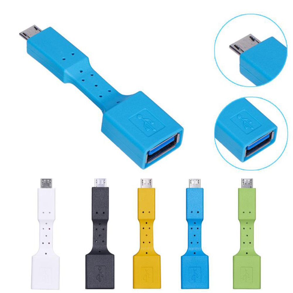 Eclankon USB 3.1 Micro B To USB 3.0 Type A Male-to-Female OTG Data Connector Cable Adapter Sync Charger Charging Drop Shipping