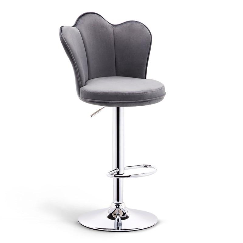 Bar Stool Home High  Modern Minimalist  Chair Bar  Mobile Phone    Table And