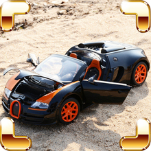 New Coming Gift Rastar Bugatti Veyron 1/18 Metal Big Model Car Roadstar Alloy Vehicle Car Fans Toy Limited Collection Decoration new arrival gift pnmr 1 18 large metal model car sport drive model scale alloy collection vehicle toys car pro fans show