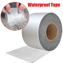 High Temperature Resistance Waterproof Tape Aluminum Foil Thicken Butyl Tape Wall Crack Roof Duct Repair Adhesive Tape cheap CN(Origin) Paint Decorating Filament Tape