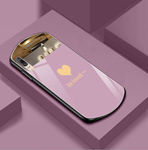 For iphone 11 12 promax x xs xr 7 8plus case love makeup mirror case for Apple mobile phone cases for girls