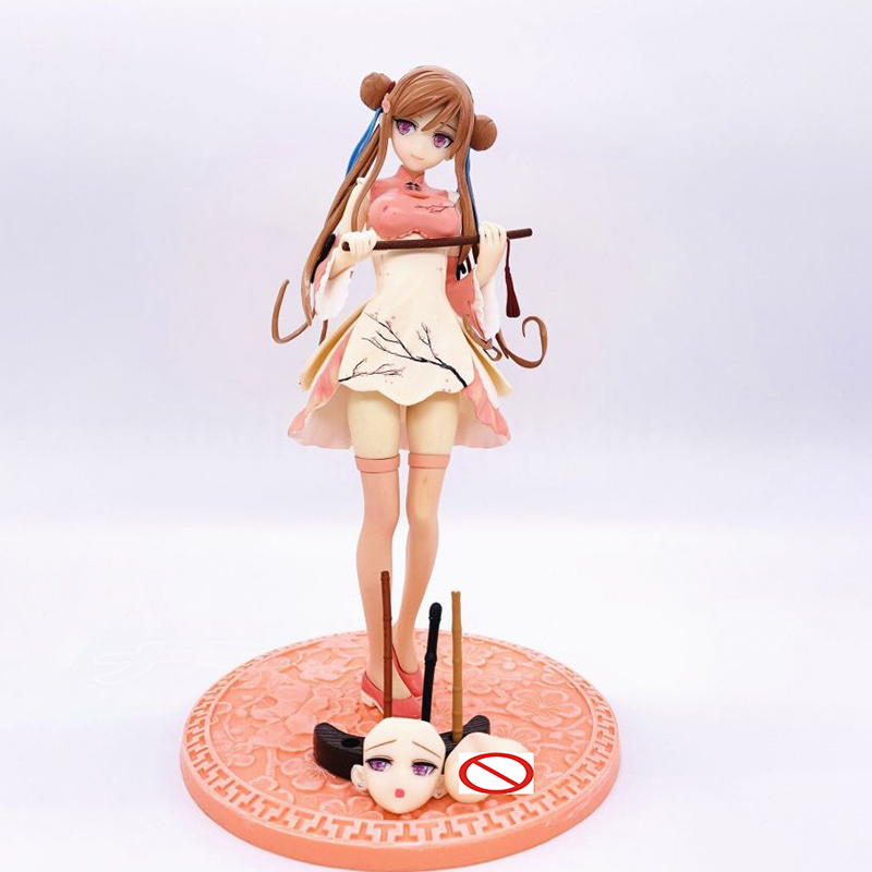 Alphamax Skytube STP Sexy Girl CHUN-MEI PVC Action Figure Statue Anime Figure Model Toys Sexy Figure Collection Doll Gift Soft