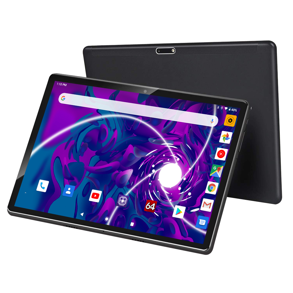 2020 MediaPad 10 Inch Tablet 3G Phone Call Android 9.0 Pie 32GB EMMC 1280*800 IPS Dual SIM Dual Cameras WiFi GPS Tablets Youtube