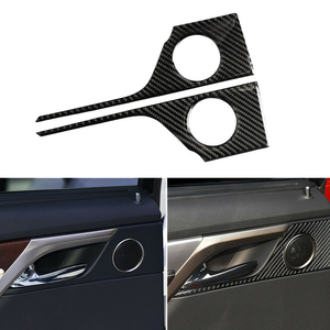 Carbon Fiber Car Rear Door Han