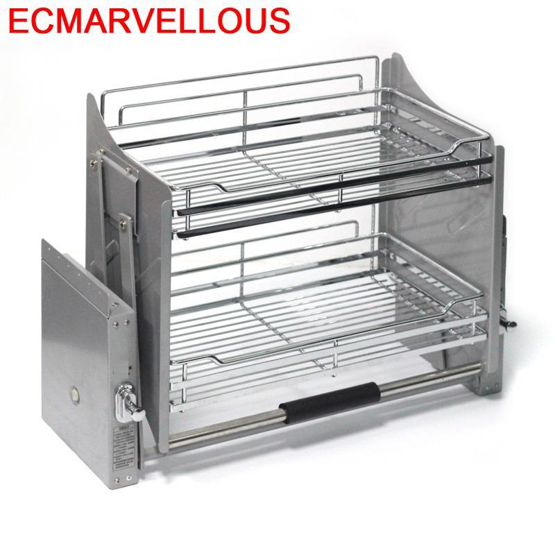 Permalink to Para Organizar Almacenaje Armario Platos Organizador Cocina Hanging Cozinha Cuisine Organizer Kitchen Cabinet Storage Basket