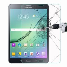 цена на 9H Premium 0.3mm Explosion-Proof Toughened Tempered Glass for Samsung Galaxy Tab S2 9.7 T815 T810 SM-T810 Film Screen Protector
