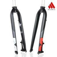 Fahrrad gabel 26 27 5 & 29 zoll mountainbike gabel aluminium legierung fahrrad disc bremse harte vor MTB gabel hohe Qualität