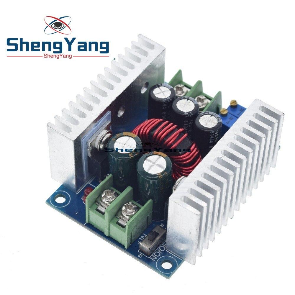 300W 20A DC DC понижающий преобразователь, понижающий модуль с драйвером постоянного тока для светодиода, понижающий модуль напряжения, электролитический конденсатор|Интегральные схемы|   |
