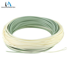 Maximumcatch Outbound Short Fly Fishing Line 6 10wt 100FT Weight Forward Saltwater Fly Line With 2 Welded Loops