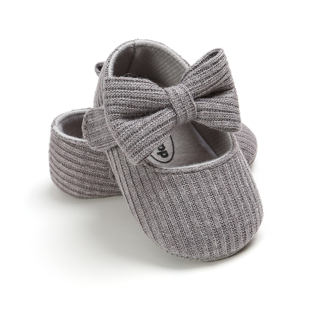 Baby Girls Cotton Shoes Retro Spring Autumn Toddlers Prewalkers Cotton Shoes Infant Soft Bottom First Walkers 0-18M 5