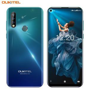 Image 5 - OUKITEL C17 פרו 6.35 19:9 4GB RAM 64GB ROM MT6763 Smartphone 13MP טביעות אצבע אוקטה Core אנדרואיד 9.0 4G נייד טלפון 3900mAh