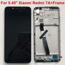 شاشة LCD تعمل باللمس ، تم اختبارها AAA ، 5.45 بوصة ، محول رقمي ، لـ Xiaomi Redmi 7A ، أصلي