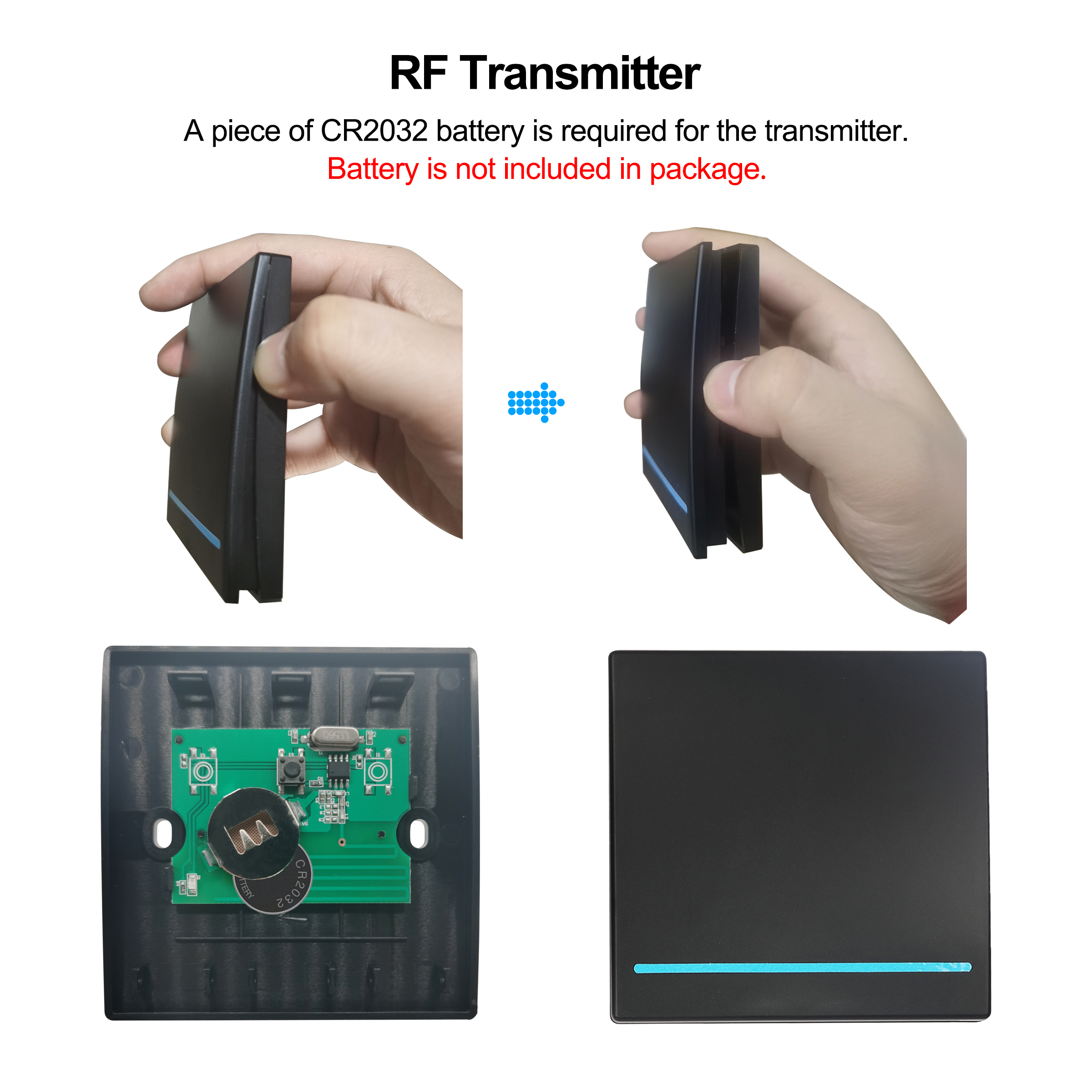 Smart Wifi Light Switch 433MHz RF Wall Switch Tuya/Smart Life App Wireless Smart DIY Breaker Module Works with Alexa Google Home