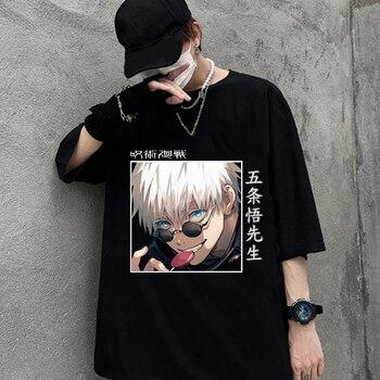 Jujutsu Kaisen Men's T-shirt O-Neck Short Sleeve Harajuku Graphic T-shirt 1