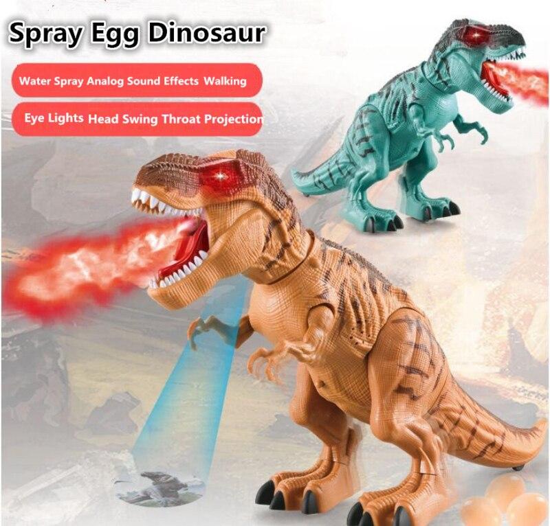 Andando brinquedo robô dinossauro elétrico 47 cm