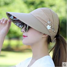 Шляпа Солнцезащитная Женская двусторонняя с широкими полями