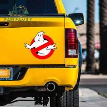 EARLFAMILY – autocollants de voiture Ghostbusters, étiquette de dessin animé drôle de style de voiture, décoration murale de fenêtre d'ordinateur portable, graphiques étanches