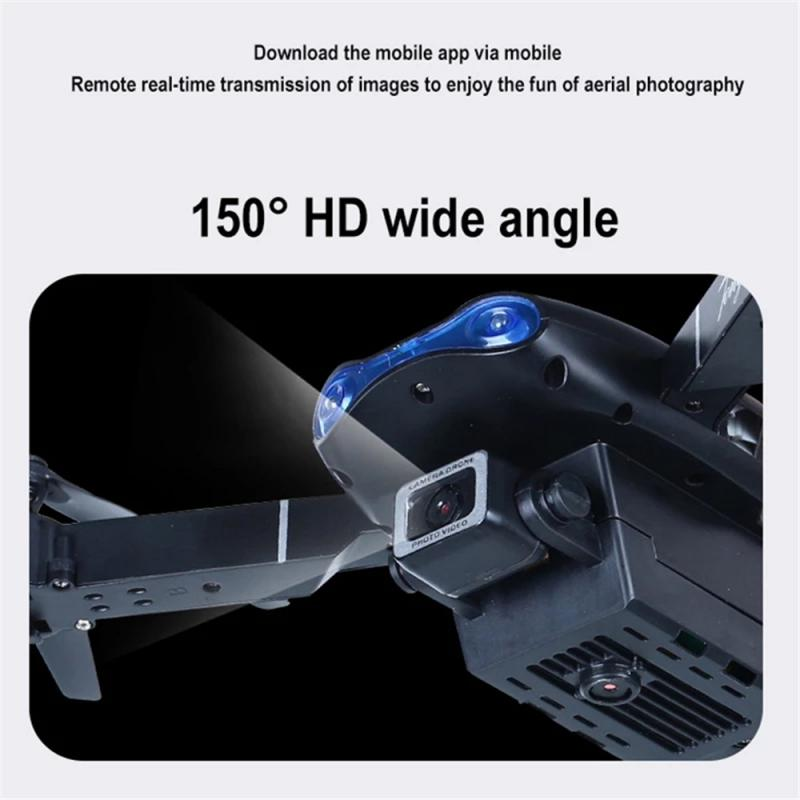 H59f1414438b140c89c487be1cbc825dbv - E99 PRO RC Drone 4K HD Dual Camera WiFi FPV Foldable Automatic Return Professional Aerial Drone K3 Dron Toy Gift For Adult Kids