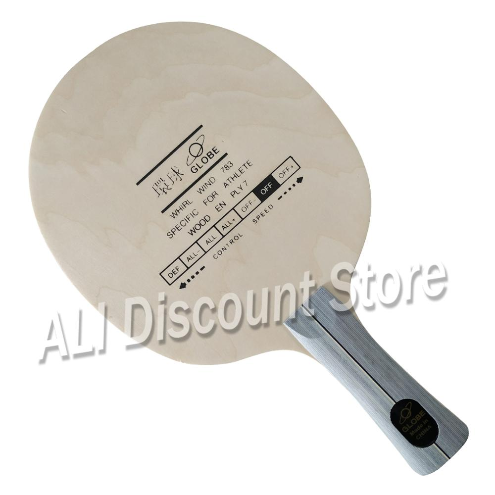 Globe Whirl Wind 783 Specific For Athlete 7-Plywood OFF Table Tennis Blade For PingPong Racket