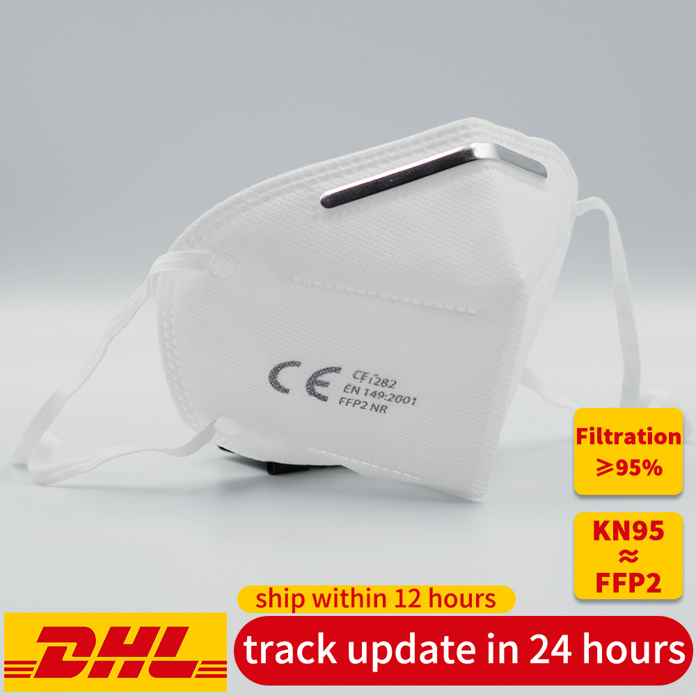 US $34.0 |Disposable KN95 anti virus dust proof face mouth mask Mascherine Mascarillas 95% Filtration ≥ mask FFP2 not FFP3 work respirator|Masks| |  - AliExpress