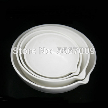 Wszystkie rozmiary dostępne Lab biały 35ml do 1000ml 1 sztuk 2 sztuk 3 sztuk 5 sztuk 10 sztuk ceramiczne naczynie do odparowywania do eksperymentu laboratoryjnego tanie i dobre opinie Kolby