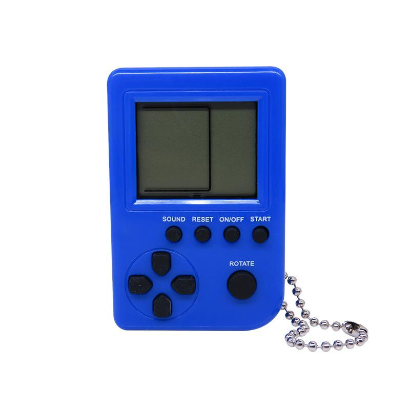 GloryStar Mini Child Video Game Console Capsule Toy Twisted Egg Built-in 26 Games Use for Key Chain Ring Holder Kids