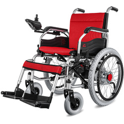 Portatile pieghevole Sedia A Rotelle Elettrica Automatica Piccolo Intelligente A Quattro ruote Auto per gli Anziani e Disabili