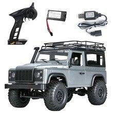 Camion télécommandé, échelle 1:12, modèle MN RTR Version WPL RC voiture 2.4G 4WD MN99S MN99-S RC, camion télécommandé D90