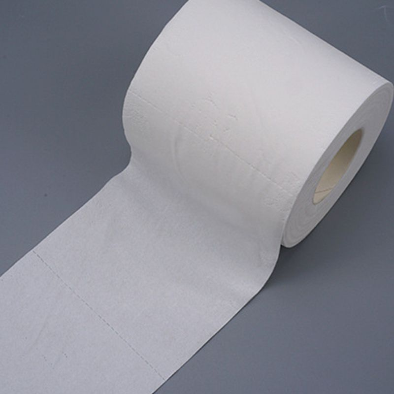 10 Rolls Family Toilet Paper Ultra Soft Wood Pulp 3-Layers Thickened Toughness Strength Gentle Soft Bath Tissue For Household