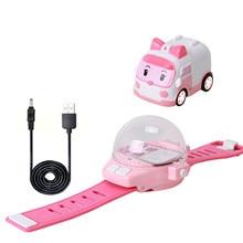 Watch Remote Control Vehicle Gravity Sensing Children'S Toys Wrist Mini Remote Control Boy Car Birthday Present For Kid Fun Game