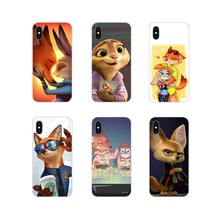 Zootropolis Crazy Zootopia Rabbit For Xiaomi Mi4 Mi5 Mi5S Mi6 Mi A1 A2 5X 6X 8 9 Lite SE Pro Mi Max Mix 2 3 2S Cell Phone Covers(China)