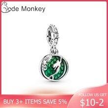 CodeMonkey Heißer Verkauf 100% Echt 925 Sterling Silber Meerjungfrau Perlen Charms Fit Ursprüngliche Design Armband & Armreif DIY Schmuck CMC006