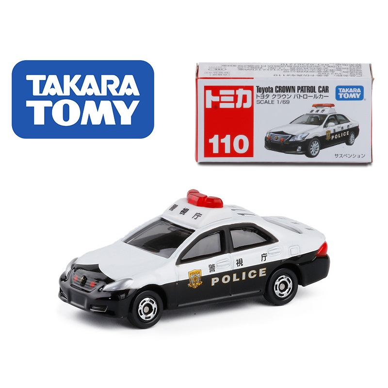 NEW Takara Tomica Tomy #110 Toyota Crown Patrol Scale 1//69 Diecast Toy Car Japan