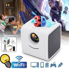 Mini Full HD 1080P Projector Home Theater Projector Portable