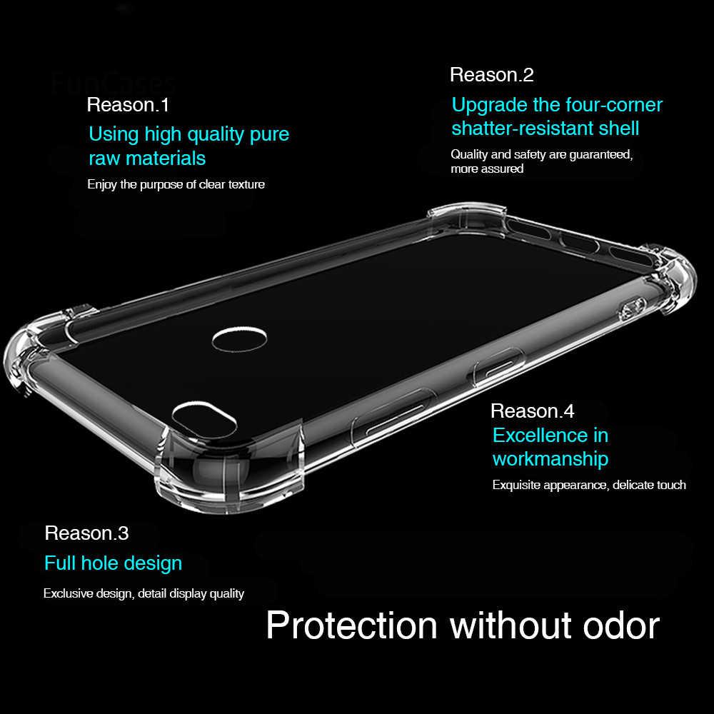Yumuşak TPU silikon kılıf Için Xiaomi mi kırmızı mi 6A 4A 5A 4X NOT K20 4 5 6 7 Pro darbeye dayanıklı Kapak mi mi x 2S 3 9 SE 8 Lite kapak Çantası