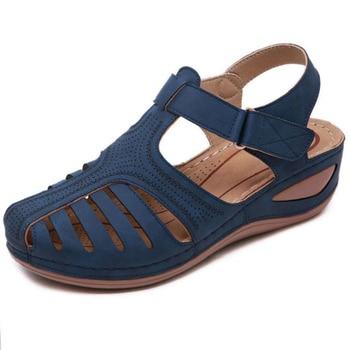 Women Sandals Vintage Wedge  1