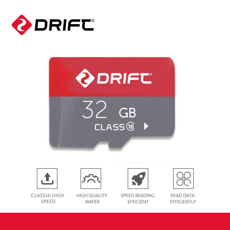 ドリフトメモリカード 32 ギガバイトのマイクロ sd カードフラッシュカードメモリ microsd tf カードアクションカメラスポーツカムオートバイカムゴースト x/xl/4 18k